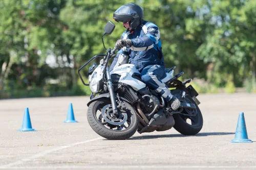 Motorrijbewijspoint Heerlen motor rijtest